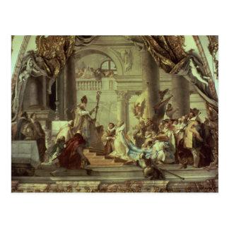 Carte Postale Mariage de Frederick Barbarossa d'empereur
