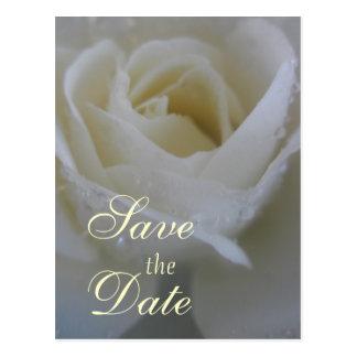 Carte Postale Mariage rose d'ange