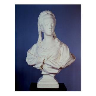 Carte Postale Marie-Antoinette, buste de portrait