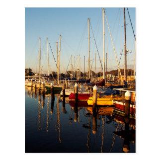 Carte Postale Marina de lever de soleil