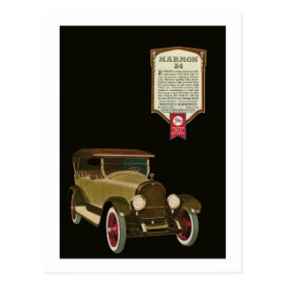Carte Postale Marmon 34 - Publicité automatique vintage