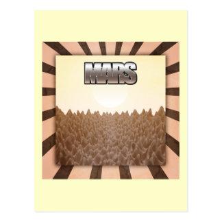 Carte Postale Mars