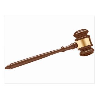 Carte Postale Marteau de juge