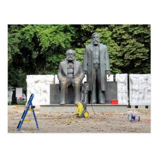Carte Postale Marx-Engels Denkmal Berlin