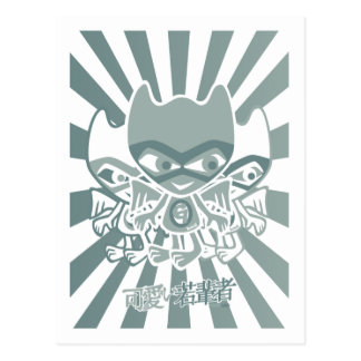 Carte Postale Mascotte de gargouille