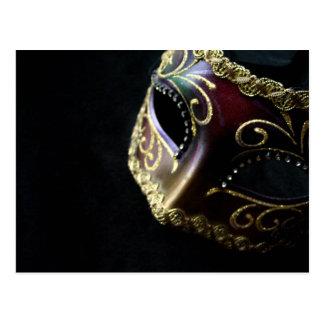 Carte Postale Masque