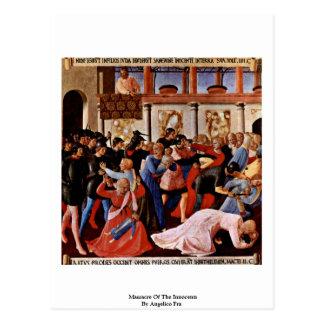 Carte Postale Massacre des innocents par Angelico ATF