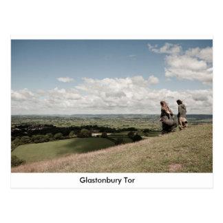 Carte Postale Massif de roche de Glastonbury