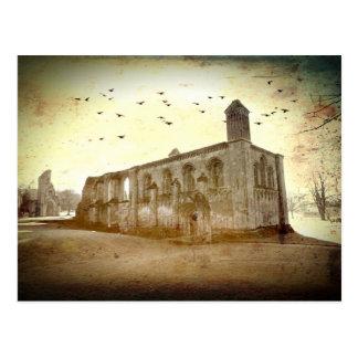 Carte Postale Massif de roche de Glastonbury, Somerset