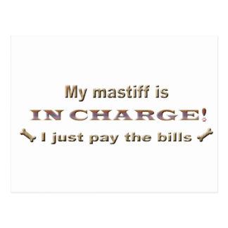 Carte Postale mastiff