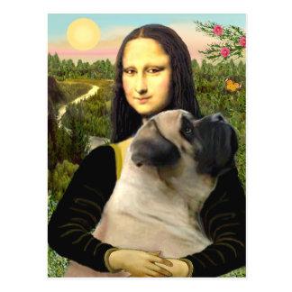 Carte Postale Mastiff #1 de Mona Lisa - de Taureau