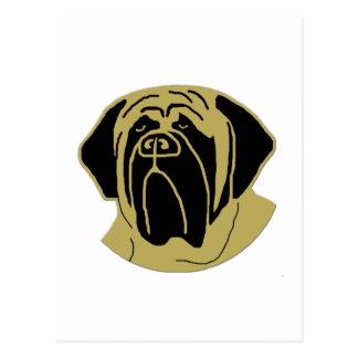 Carte Postale Mastiff anglais