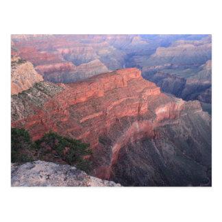 Carte postale - matin dans le canyon grand