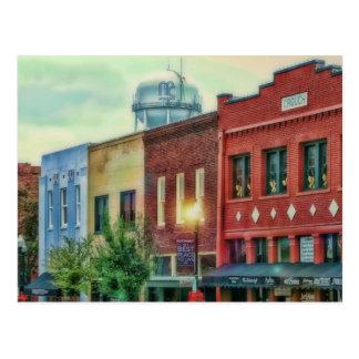 Carte Postale McKinney du centre historique le Texas
