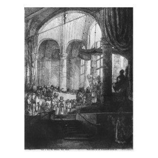 Carte Postale Medea, ou le mariage de Jason et de Creusa, 1648