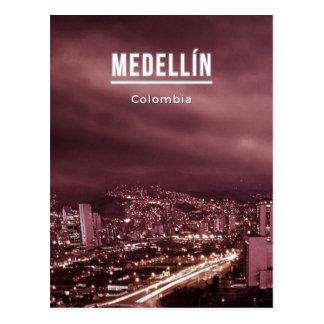 Carte Postale Medellin Colombie