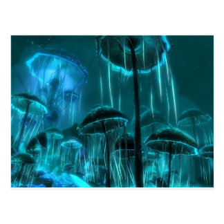 Carte Postale Méduses de champignon