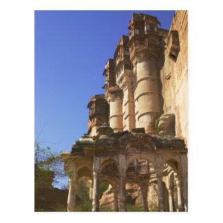 Carte Postale Meherangarh, le fort majestueux, Jodhpur,