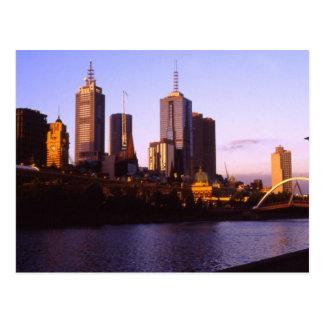 Carte Postale Melbourne - l'Australie