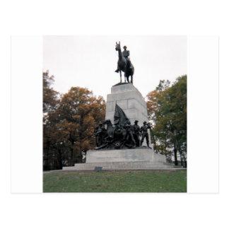 Carte Postale Mémorial de la Virginie à Gettysburg NMP