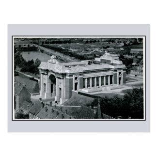 Carte Postale Mémorial de porte de Ypres Menin pour l'antenne