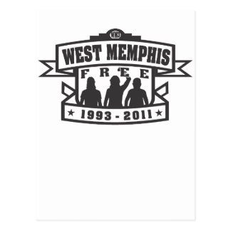 Carte Postale Memphis occidental trois