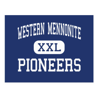 Carte Postale Mennonite occidental - pionniers - haut - Salem