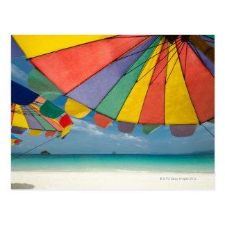 Carte Postale Mer tropicale de plage et de turquoise de sable