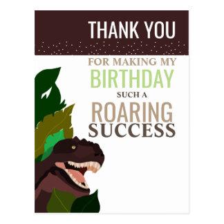Carte Postale Merci de l'anniversaire des enfants de partie de