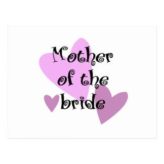 Carte Postale Mère de la jeune mariée