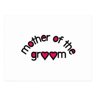 Carte Postale Mère du marié