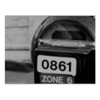 Carte Postale mètre
