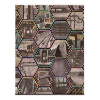 Carte Postale Métro de C.C