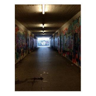 Carte Postale Métro de Dortmund Grafitti à la gare