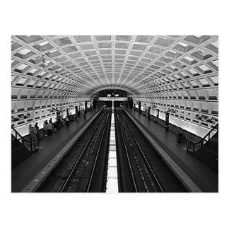 Carte Postale Métro de Washington
