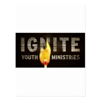 Carte Postale Mettez à feu les ministères de la jeunesse