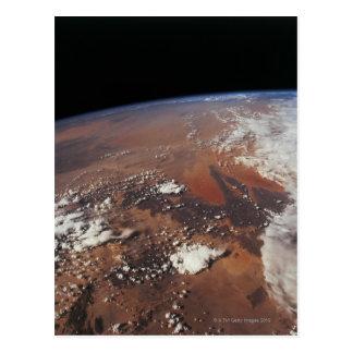 Carte Postale Mettez à la terre de l'espace 4
