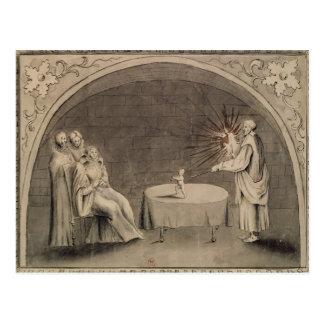Carte Postale Michel de Nostradame et Catherine