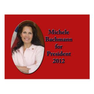 Carte Postale Michele Bachmann pour le président 2012