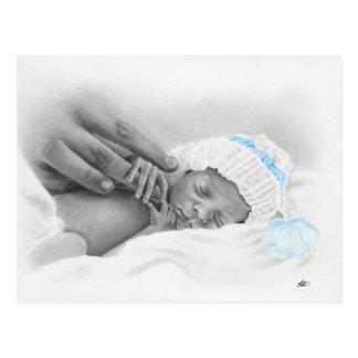 Carte postale micro de sommeil de bébé