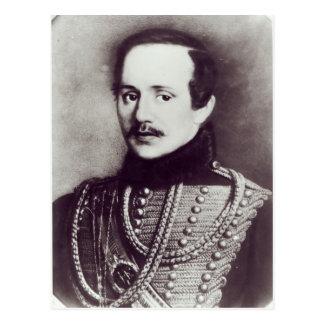 Carte Postale Mikhail Yuryevich Lermontov