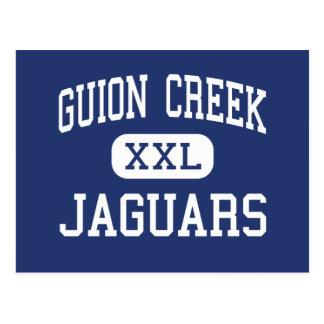 Carte Postale Milieu Indianapolis de jaguars de crique de Guion