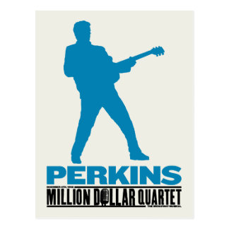 Carte Postale Million de quartet Perkins du dollar
