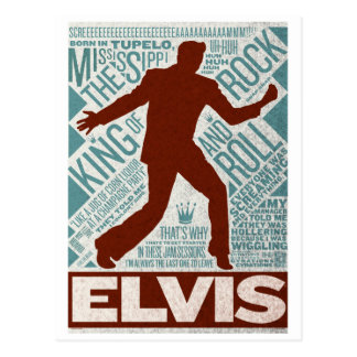 Carte Postale Million de type d'Elvis de quartet du dollar