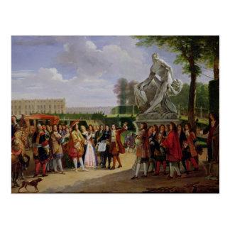 Carte Postale Milo de Louis XIV Puget consacrant 'de