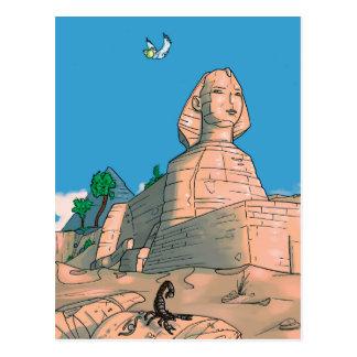 Carte Postale Milo en Egypte