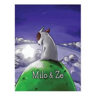 Carte Postale Milo et Ze