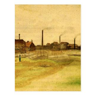 Carte Postale Mine de charbon dans le Borinage par Vincent van