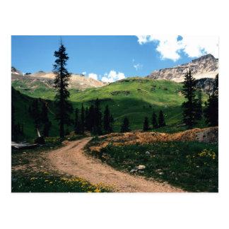 Carte Postale Mine en bassin de garçon de Yankee, le Colorado