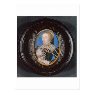 Carte Postale Miniature de Catherine de Medici, c.1555 (la
